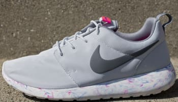 Nike Roshe Run QS Pure Platinum/Cool Grey-Mega Blue-Summit White
