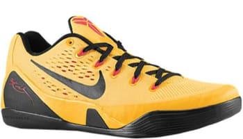 Nike Kobe 9 EM University Gold/Black-Laser Crimson