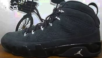 Air Jordan 9 Retro Anthracite/Black-White