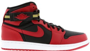 Air Jordan 1 Retro High Strap Black/Gym Red-White