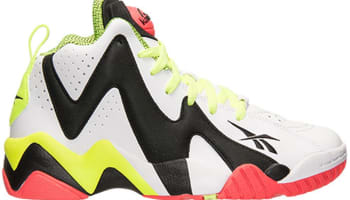 Reebok Pump Kamikaze II Mid White/Black-Flux Orange