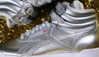 Villa x Reebok Freestyle High Pump Women's Silver