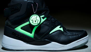 Reebok The Pump Certified Black/White-GID-Scarlet