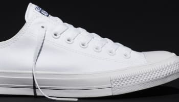 Converse Chuck Taylor All-Star II Ox Optic White/White