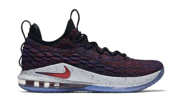 Nike LeBron 15 Low Multicolor/University Red-Black-White