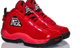 Fila 96 Fila Red/Black-Metallic Silver