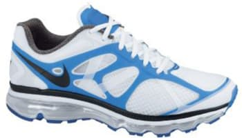 Nike Air Max+ 2012 White/Black-Blue Spark