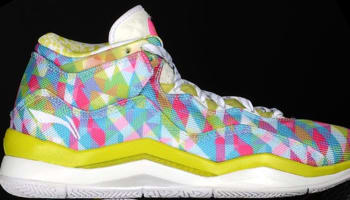 Li-Ning Way Of Wade 3 Yellow/Pink-White