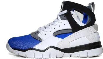 Nike Air Huarache BBall 2012 White/Black-Soar