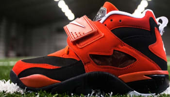 Nike Air Diamond Turf Black/White-Challenge Red