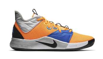 Nike PG 3 Total Orange/Black-Metallic Silver (NASA)