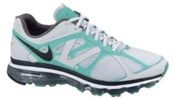 Nike Air Max+ 2012 Pure Platinum/Black-Stadium Green