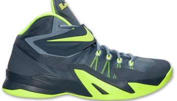 Nike Zoom Soldier VIII Magnet Grey/Volt-Dark Magnet Grey