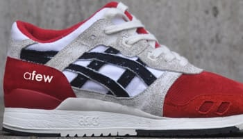 Asics Gel-Lyte III Red/Black-White