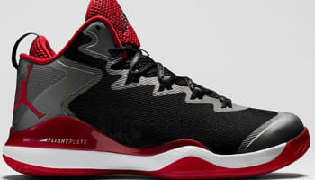 Jordan Super.Fly 3 Black/White-Varsity Red