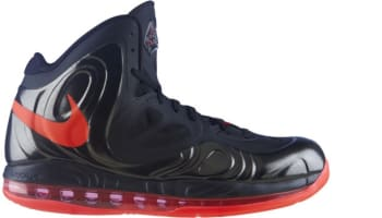 Nike Air Max Hyperposite Black/Bright Crimson-Black