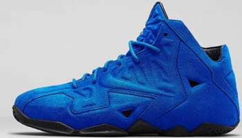 Nike LeBron 11 EXT Suede QS Game Royal/Game Royal-Black