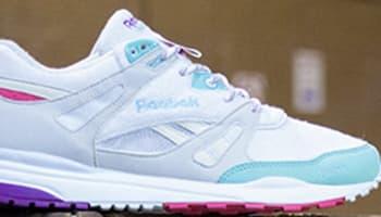 Reebok Ventilator White/Crystal Blue-Pink