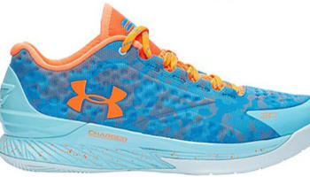 Under Armour Curry One Low Electric Blue/Carolina Blue-Blaze Orange