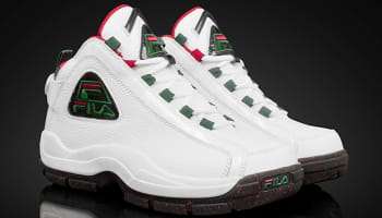 Fila 96 White/Green-Fila Red-Black