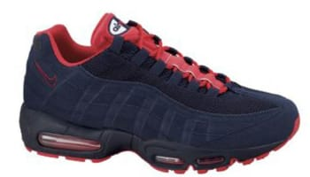 Nike Air Max '95 Obsidian/Obsidian-White-Action Red