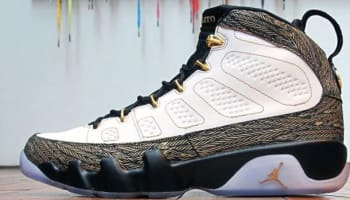Oswaldo's Air Jordan 9 Retro DB Doernbecher