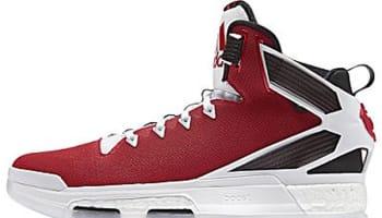 adidas D Rose 6 Boost Scarlet/Flat White-Core Black