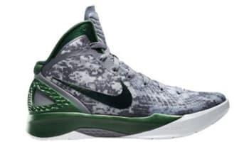 Nike Hyperdunk 2011 Supreme Cool Grey/Gorge Green-White
