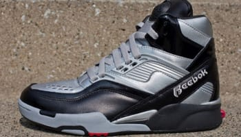Reebok Twilight Zone Pump Black/Tin Grey