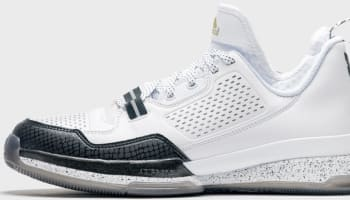 adidas D Lillard 1 White/Black-Gold
