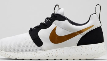 Nike Roshe Run Hyp Premium QS Ivory/Metallic Gold-Black