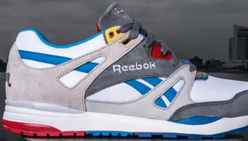 Reebok Ventilator White/Grey-Blue
