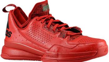 adidas D Lillard 1 Scarlet/Black-Bright Red