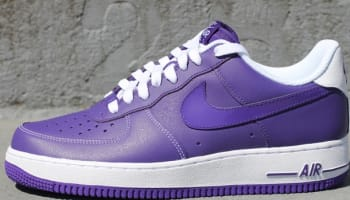 Nike Air Force 1 Low Court Purple/Court Purple-White