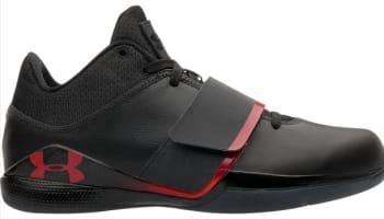 Under Armour Micro G Bloodline Black/Black-Red