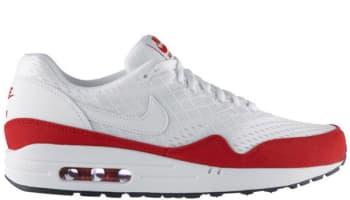 Nike Air Max 1 EM White/White-University Red-White