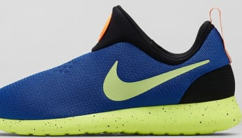 Nike Roshe Run Slip-On City Game Royal/Liquid Lime-Volt