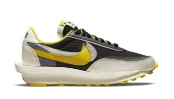 Sacai x Undercover x Nike LDWaffle Black/Bright Citron