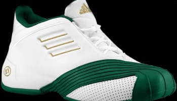 adidas T-Mac 1 Running White/Forest Green-Metallic Gold