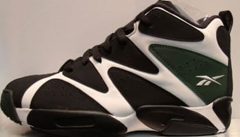 Reebok Kamikaze I Mid White/Black-Racing Green