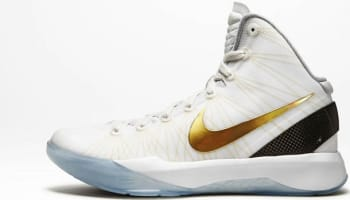 Nike Zoom Hyperdunk 2011 Elite White/Metallic Gold