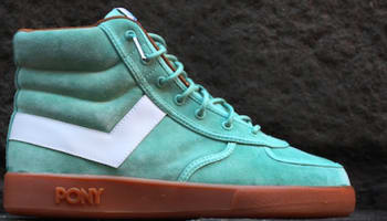 Pony Slam Dunk Mint Green/White-Gum