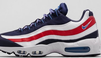 Nike Air Max '95 City Midnight Navy/Distance Blue-White-Chilling Red