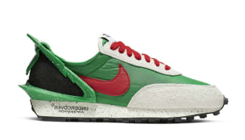Undercover x Nike Daybreak Women's Lucky Green/University Red