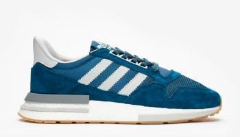 Sneakersnstuff x Adidas ZX500 RM Blue Night/Grey Two/Grey Four