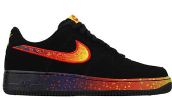 Nike Air Force 1 Low Black/Fire
