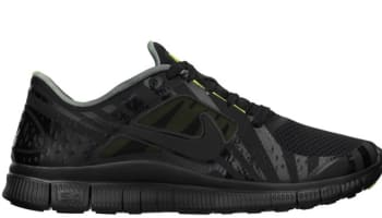 Nike Free Run+ 3 Hurley NRG Black/Black-Volt