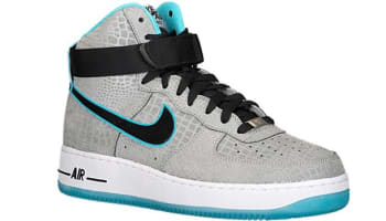 Nike Air Force 1 Hi CMFT Premium Reflect Silver/Black-Gamma Blue