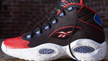 Reebok Question Mid Black/White-Red-Royal