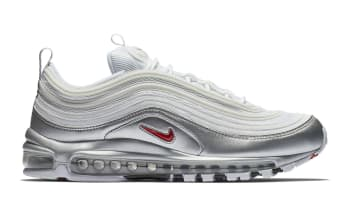 Nike Air Max 97 QS White/Varsity Red-Metallic Silver-Black